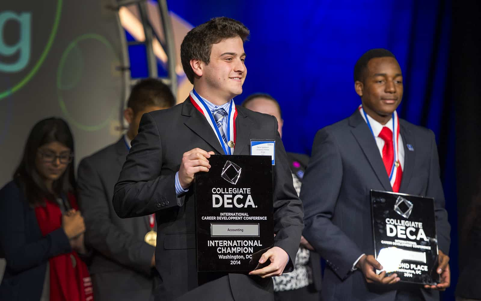deca competition Deca's principles of business administration events measure the student's proficiency in those knowledge and skills identified by career practitioners as common academic and technical content across marketing, finance, hospitality, and business management and administration.